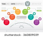 presentation slide template or... | Shutterstock .eps vector #360809039
