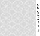 seamless geometric pattern.... | Shutterstock .eps vector #360811715
