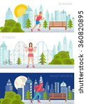 vector set sport and fitness... | Shutterstock .eps vector #360820895