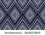 geometric ethnic pattern design ... | Shutterstock .eps vector #360825845