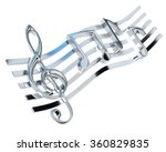 Chromed Treble Clef And The...