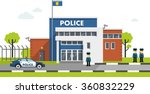 City Police Station Department...