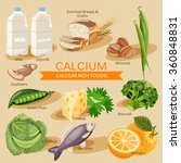 vitamins and minerals foods... | Shutterstock .eps vector #360848831