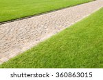 Well Groomed Lawns With Paved...