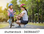 the asian family mother... | Shutterstock . vector #360866657