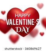 valentine's heart. greeting...   Shutterstock .eps vector #360869627