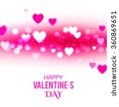 valentine's background with... | Shutterstock .eps vector #360869651