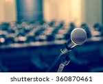microphone over the abstract... | Shutterstock . vector #360870461