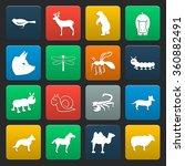 Animal Icons Set. Animal Icons...