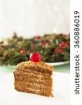 honey cake. | Shutterstock . vector #360886019