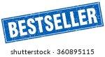 bestseller blue square grunge... | Shutterstock .eps vector #360895115