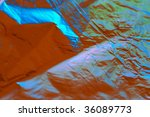 foil with color reflection... | Shutterstock . vector #36089773