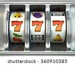 slot machine with jackpot.... | Shutterstock . vector #360910385