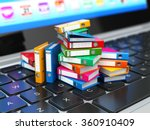 database or archive concept.... | Shutterstock . vector #360910409