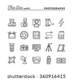 photography  equipment  post... | Shutterstock .eps vector #360916415