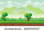 fantasy landscape  vector game ... | Shutterstock .eps vector #360920537