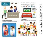 hotel infographics element.... | Shutterstock .eps vector #360921515