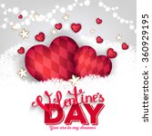 valentine's day party... | Shutterstock .eps vector #360929195