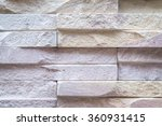 old brown bricks wall pattern | Shutterstock . vector #360931415