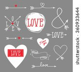 set of elements for design  ... | Shutterstock .eps vector #360933644