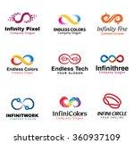 infinity design illustration  | Shutterstock .eps vector #360937109