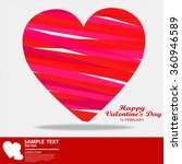 valentine's day abstract... | Shutterstock .eps vector #360946589