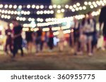 festival event party with... | Shutterstock . vector #360955775