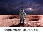 Brave Astronaut Spacewalk Mars This - Fine Art prints