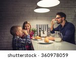 shot of a father and son... | Shutterstock . vector #360978059