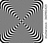radial black white lines with...   Shutterstock .eps vector #360981425