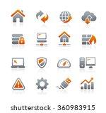 web developer icons    graphite ... | Shutterstock .eps vector #360983915
