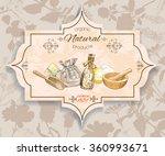 vector vintage banner with...   Shutterstock .eps vector #360993671