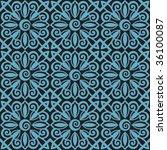 decorative vector ornament | Shutterstock .eps vector #36100087