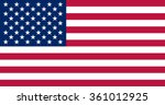 flag of the usa | Shutterstock .eps vector #361012925