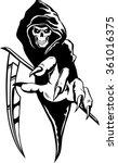 grimm reaper | Shutterstock .eps vector #361016375
