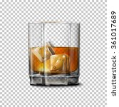 transparent realistic vector...   Shutterstock .eps vector #361017689