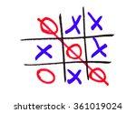 xo game | Shutterstock . vector #361019024