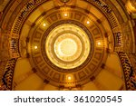 Inside Of Gold Dome   A Low...