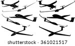 Glider Sailplane Illustration...
