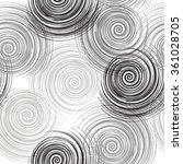 vector fabric monochrome...   Shutterstock .eps vector #361028705