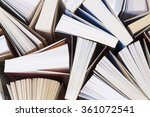 open books close up as... | Shutterstock . vector #361072541