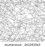abstract repeatable squiggly... | Shutterstock .eps vector #361092065