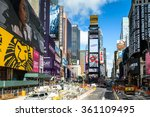 new york  usa   oct 7  2015 ... | Shutterstock . vector #361109495
