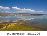 tufa formations at mono lake in ... | Shutterstock . vector #3611208