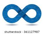 vector infinity symbol. | Shutterstock .eps vector #361127987