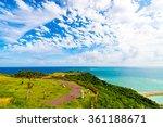 Sea  Coast  Seascape. Okinawa ...