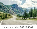 """chuiskiy Tract"" Mountain Road..."