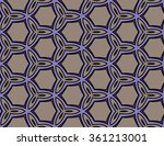 abstract geometric pattern.... | Shutterstock .eps vector #361213001