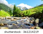 stream in the mountains in the... | Shutterstock . vector #361214219