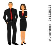vector illustration of business ... | Shutterstock .eps vector #361228115